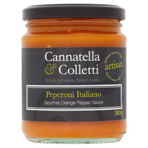 Sweet Orange Pepper Sauce - Cannatella & Colletti