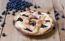 "Refreshing Blueberry Pie - 9"""