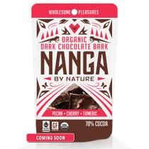 Pecan Cherry Turmeric Organic Dark Chocolate Bark / 12 Pack