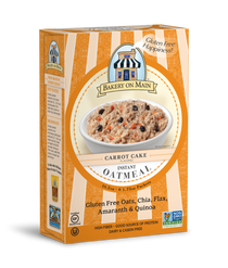 Carrot Cake Instant Oatmeal
