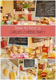 Grilled Cheese Party Event