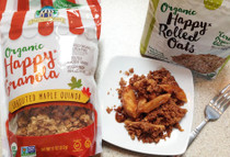 Organic Happy Granola Sprouted Maple Quinoa
