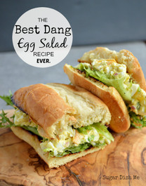 BEST EVER EGG SALAD SANDWICH