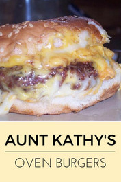 Aunt Kathy's Oven Cheese Burgers