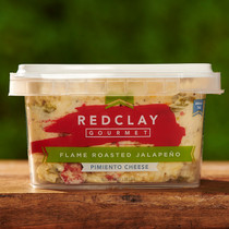 Red Clay Gourmet Flame Roasted Jalapeno Pimento Cheese