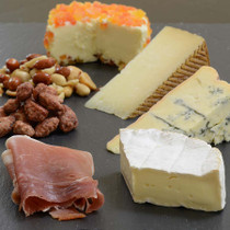 International Favorites Cheese Board - from France, Spain and Italy.