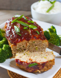 Asian Style Chicken Meatloaf