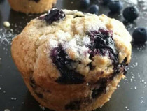 Vegan Fresh Blueberry Muffins (GF) - 1 Dozen