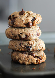 Chia Chocolate Chip Oatmeal Breakfast Cookies (GF) - 1 Dozen