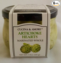 Grilled Marinated Artichokes Halves 7.9oz - 6 pack