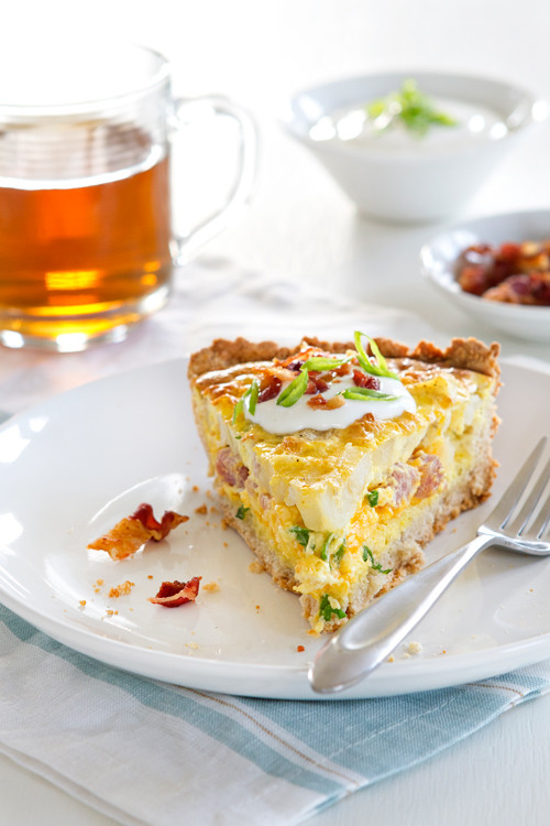 Ham And Cheese Quiche Food Network