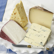 Assortment of Cheeses For Her Gift Box