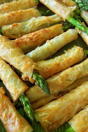 Crispy Asparagus Asiago Spears - 25 pieces