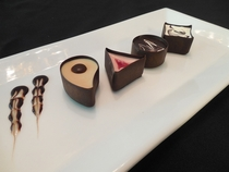 Chocolate Mousse Cup Assortment  - 70 pieces per tray