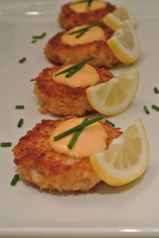 Lobster Cakes - includes 8 per tray