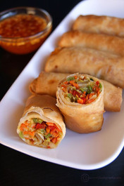 VEGETABLE SPRING ROLL - 40 pieces per tray