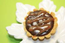 """Chocolate Ganache Tart - One Dozen of 3"""" Mini Pies"""