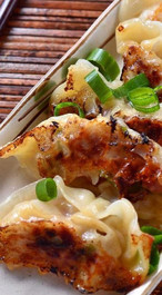 Kung Pao Chicken Potstickers - 35 pieces per tray