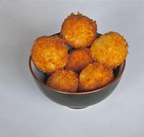 Crispy Arancini with Gouda Cheese (Riceballs) - 50 pieces per tray