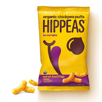 Hippeas Organic Chickpea Puffs, Far Out Fajita, 4 oz., 10 Count, Vegan, Gluten-Free