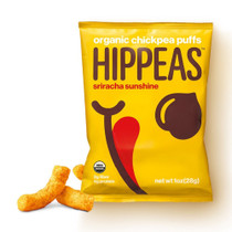 Hippeas Organic Chickpea Puffs, Sriracha Sunshine (Pack of 24)