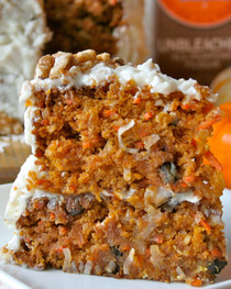 Pumpkin Carrot Cake - serves 12