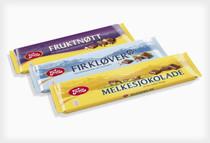 FREIA FIRKLOVER Milk Chocolate with Hazelnut 60g - 6 pack