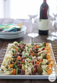 Antipasto Kabob with Prosciutto - 25 pieces per tray