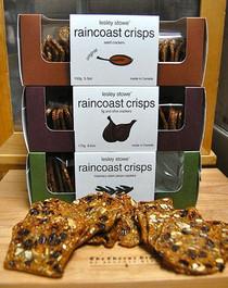 Raincoast Crisps - various delicious flavors