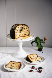 Chocolate Covered Panettone with Pistachio by Falanga