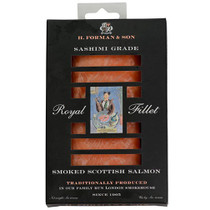 Royal Fillet Sashimi Grade Scottish Smoked Salmon - 6 oz