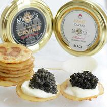 Osetra and Sevruga Caviar Sampler Gift Set