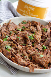 Slow Cooker Sweet Balsamic Beef