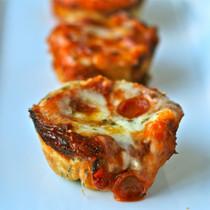 Assorted Mini Deep Dish Pizza - 200 pieces