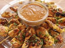 Thai Chicken Satay - 100 pieces per tray