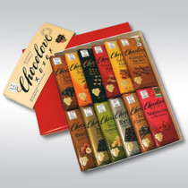 12 Bars of Chocolove xoxox Chocolate Bar Gift Set