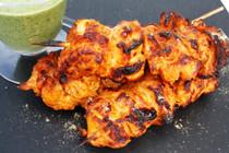 Tandoori Chicken Satays - 100 pieces per tray
