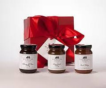 Chutney Gift Trio w/ Gift Box Red (5 oz jars) - Holmsted Fines