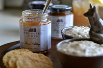 Peach Chutney (12 oz jar) - Holmstead Fines