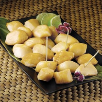 Alaskan Weathervane Smoked Scallops - 1 lb