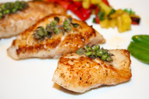 Wild Alaskan Halibut Fillets - 8 of 6 oz each