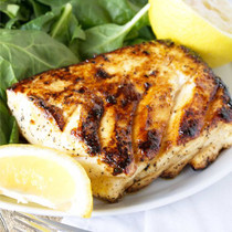 Alaskan Halibut Fillets- Buy 6, Get 1 FREE - 7 of 6 oz each