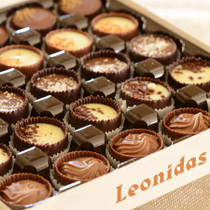 Belgium Les Coupes de Leonidas (chocolate ganache cups)- 50 pieces