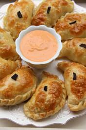 Cheese & Poblano Empanadas - 35 pieces per tray