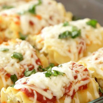 Miniature Vegetable Lasagna - 100 pieces per tray
