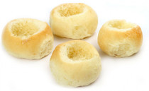 Brioche Mini Bread Bowls Unfilled - 36 pieces per tray