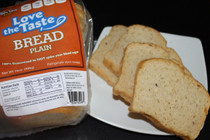 Love-The-Taste Low Carb Bread Plain, 1 Net Carb - includes 2