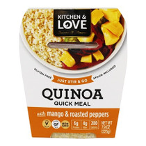 Cucina & Amore Quinoa Meal Mango & Roasted Peppers 7.9 OZ (Pack of 6)
