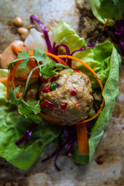 Turkey Curry Meatballs (paleo)