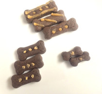 KAPHA Biscuits (Carob) - Organic Dog Treats (Vegan and Gluten Free)